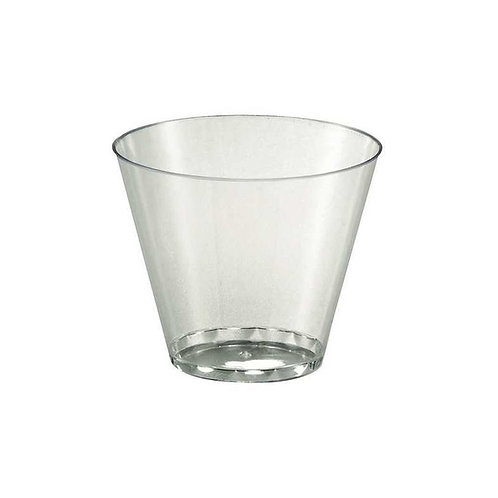 Clear 9oz Plastic Tumbler 20ct