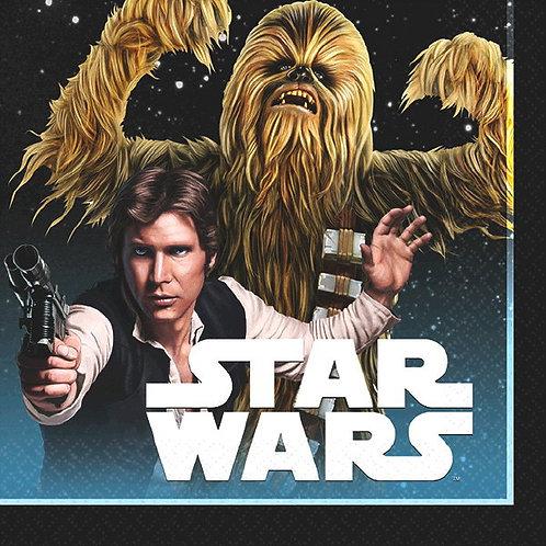 Star Wars Classic Beverage Napkins 16ct