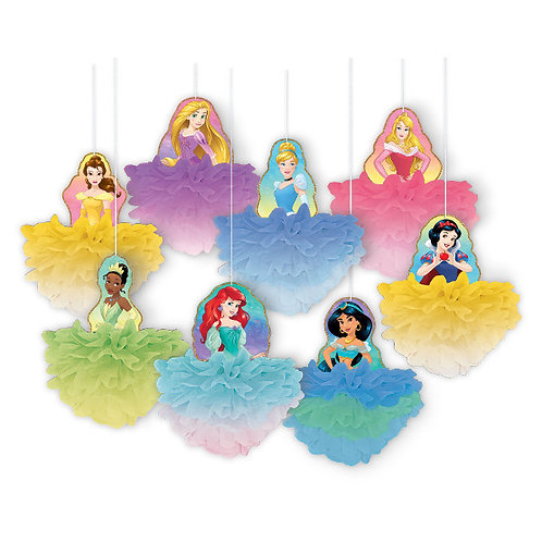 Disney Princess Deluxe Fluffy Decorations