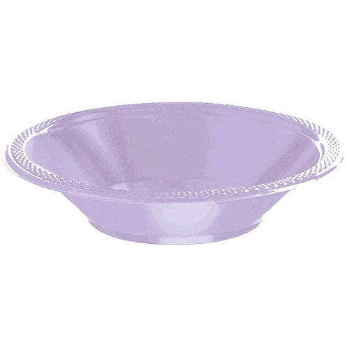 Lavender 12oz. Plastic Bowls 20ct