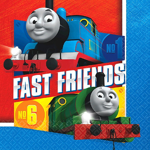 Thomas All Aboard Lunch Napkins 16ct