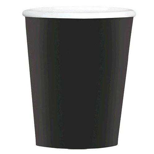 Black 12oz Paper Coffee Cups 40ct