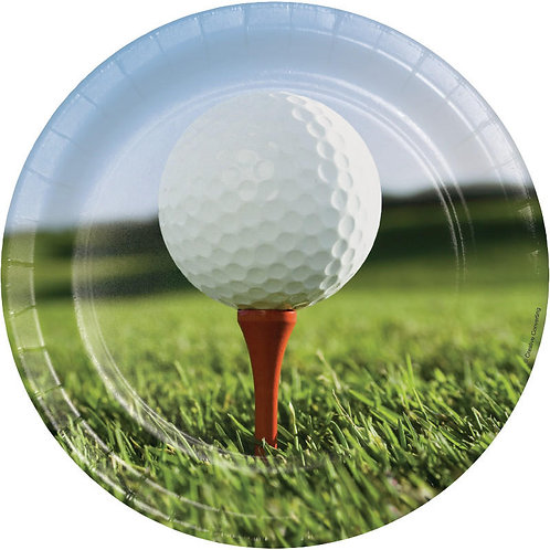 Golf Lunch Plates 8ct