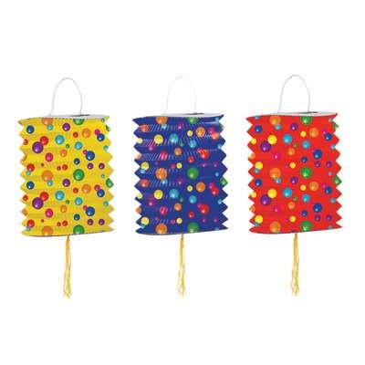 """Color Dots Lantern 5"""""""