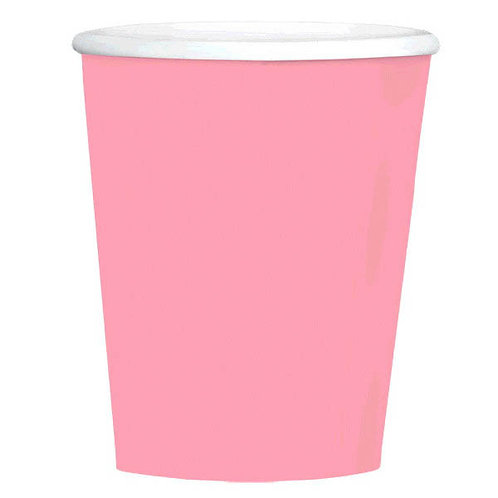 Pink 12 oz. Paper Coffee Cups 40ct