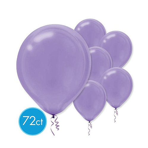 Purple Latex Balloons - Packaged, 72ct