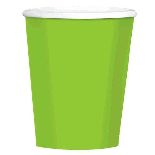 Kiwi Green 12 oz. Paper Coffee Cups 40ct