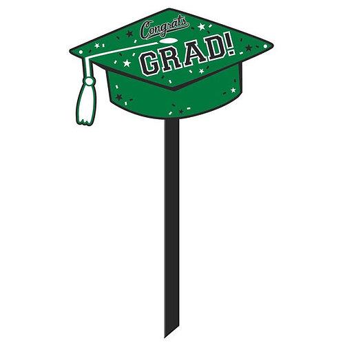 Grad Yard Sign - Green