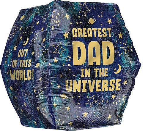 Galaxy Dad Anglez 16in Mylar Balloon