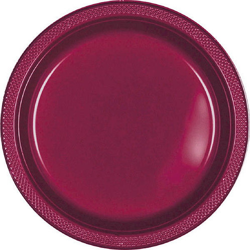 Berry 7in Plastic Plates 20ct