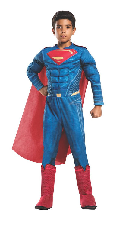 Child Superman Deluxe Muscle Costume