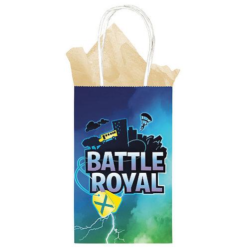 Battle Royal Paper Kraft Bag 8ct