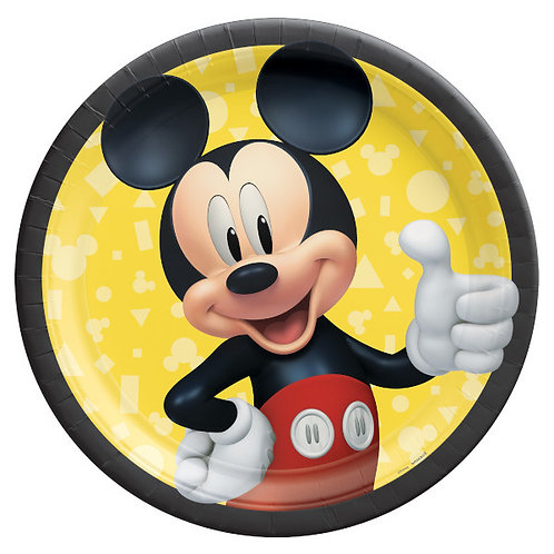 Mickey Mouse Forever 9in Plates 8ct