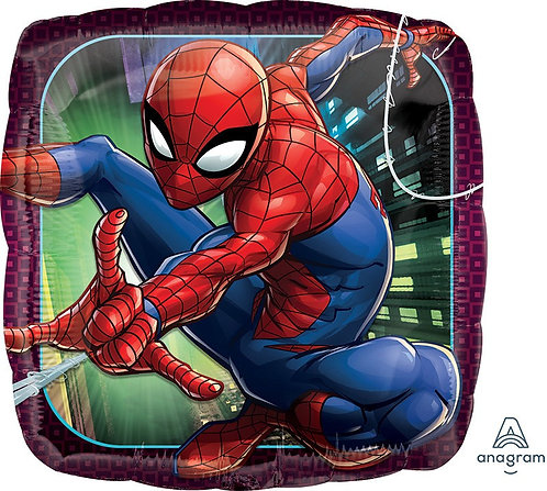 #425 Spiderman Animated 18in Balloon