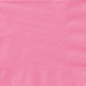 Hot Pink Beverage Napkins 20ct