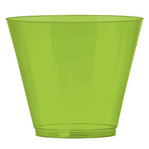 Kiwi Green 9oz Plastic Cups 72ct