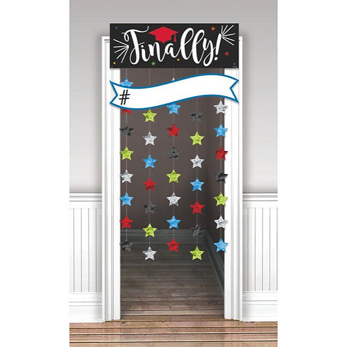 """""""Finally"""" Backdrop with Stars"""