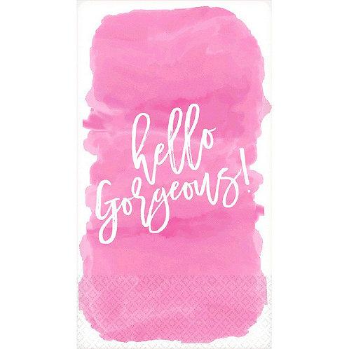 Guest Towel - Hello Gorgeous 16ct