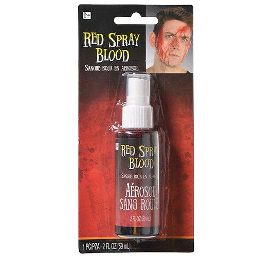 Red Spray Blood