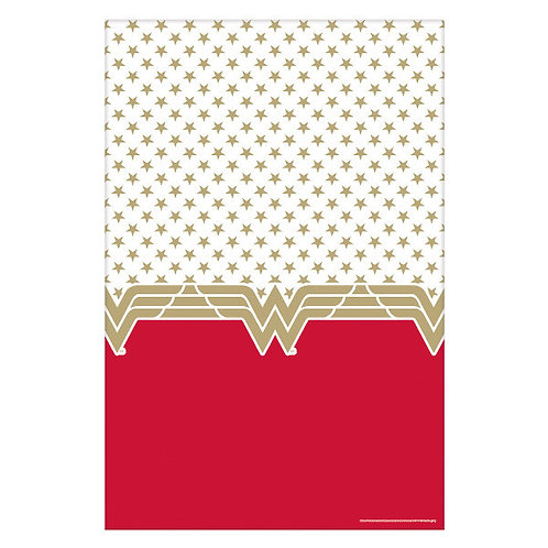 Wonder Woman Classic Plastic Table Cover