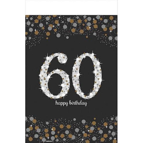 Sparkling Celebration 60 Plastic Table Cover