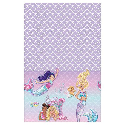 Barbie Mermaid Plastic Table Cover