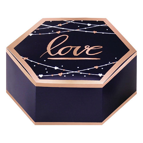 Navy Bride Paper Favor Boxes 8ct