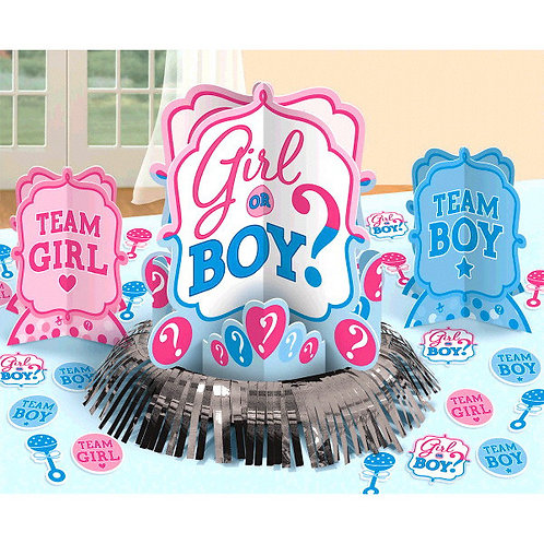 Girl or Boy? Table Decorating Kit