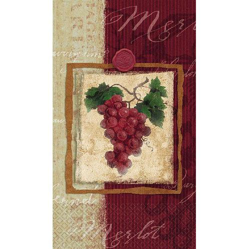 Vineyard Grape Hand Towels 16ct