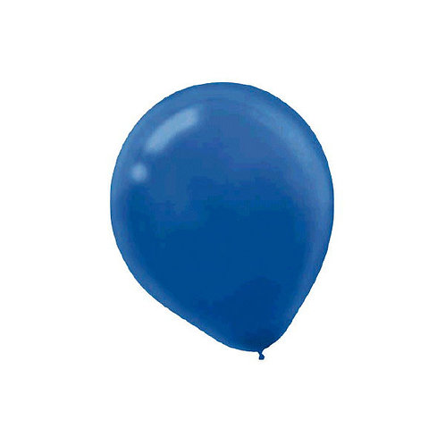 Royal Blue 9in Latex Balloons - Packaged, 20ct