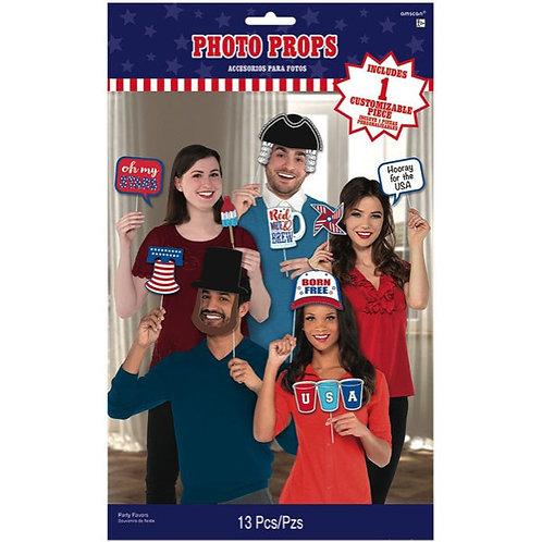 Patriotic Photo Props