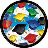 Grad Celebration 7in Plates 8ct