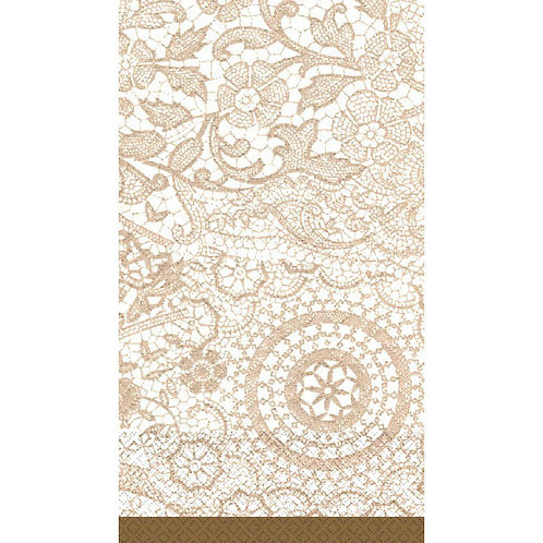 Delicate Lace Guest Towels 16ct