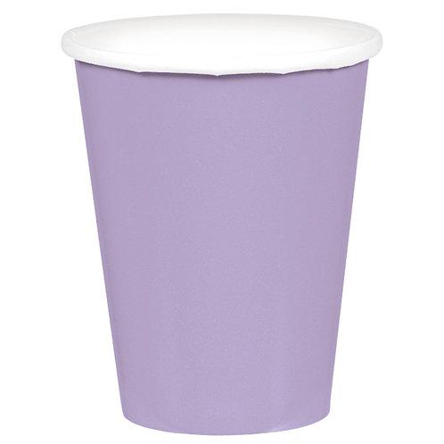 Lavender 9oz Paper Cups 20ct