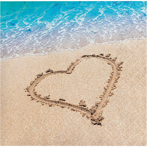 Beach Love Beverage Napkins 16ct