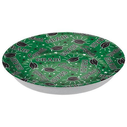 Grad Plastic Bowl - Green