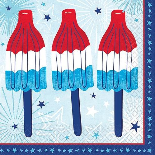 Celebrate USA Beverage Napkins 36ct