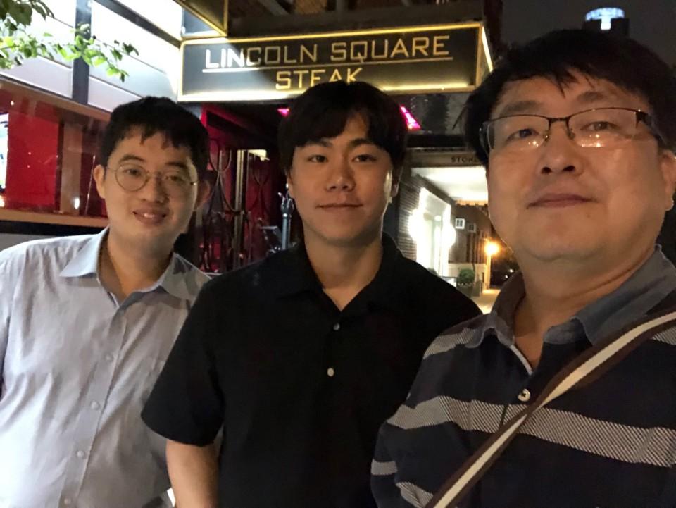 교수님포함