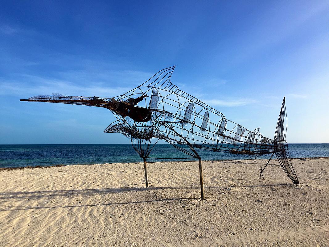 """"""" Beach Sculpture """""""