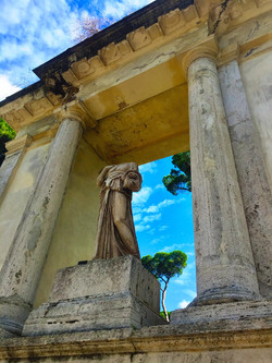 """ Beauty in Villa Borghese """