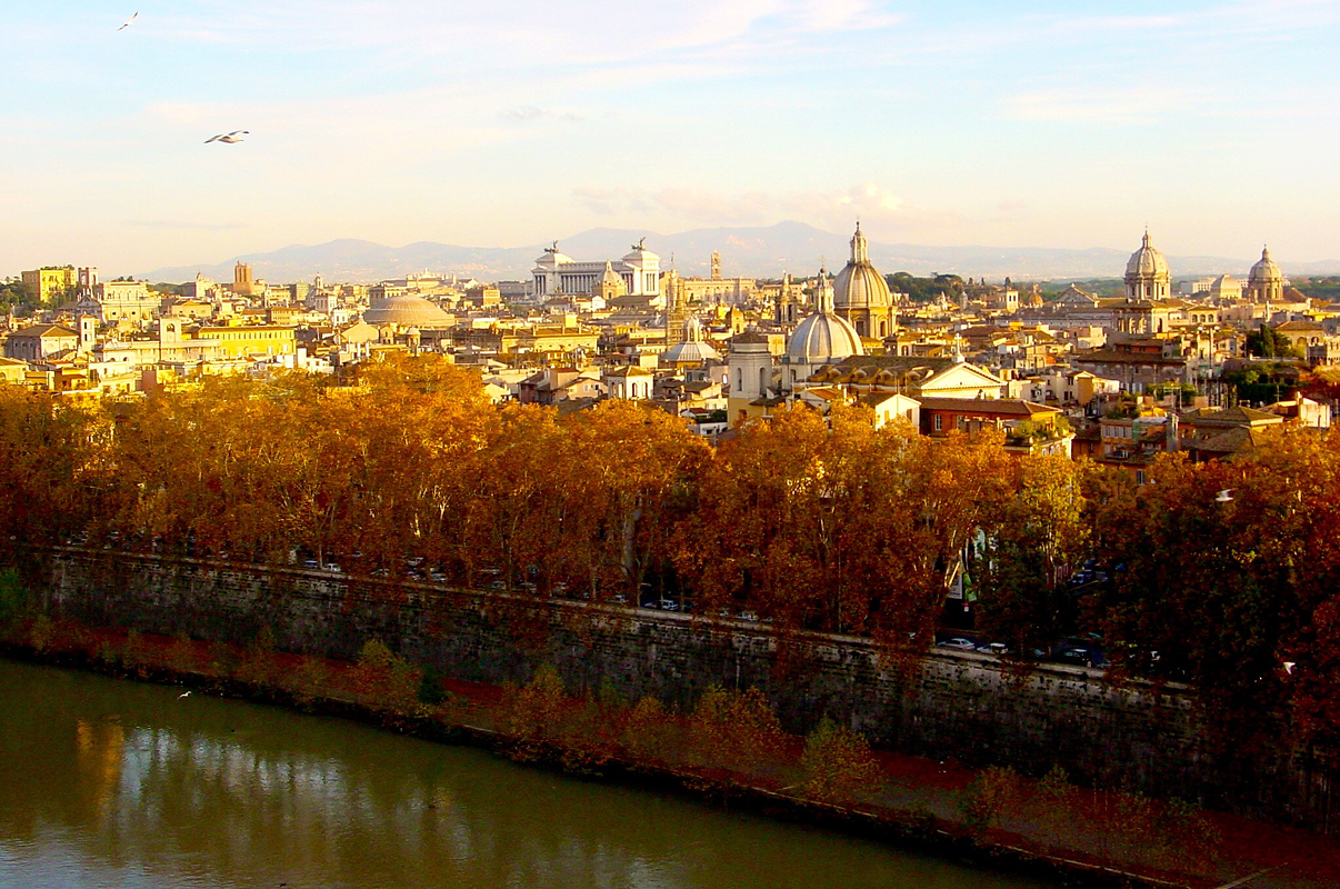 """"""" Autumn in Roma """""""