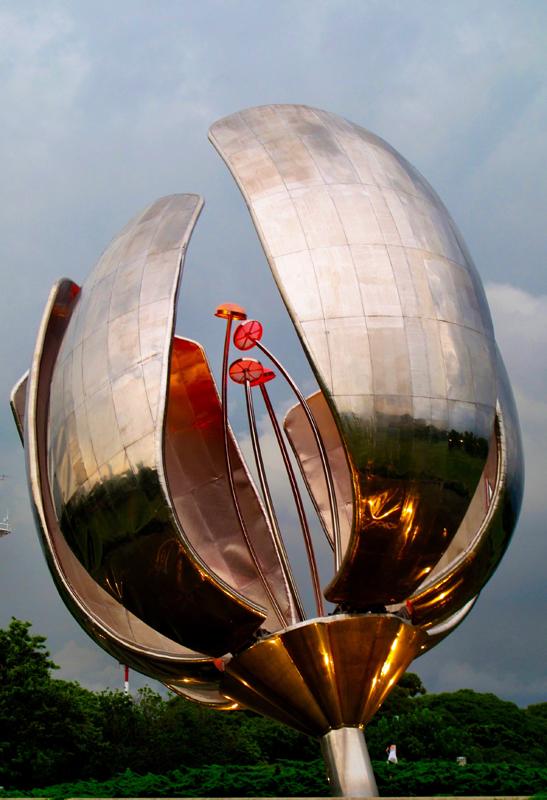 """"""" Living Steel Flower """""""
