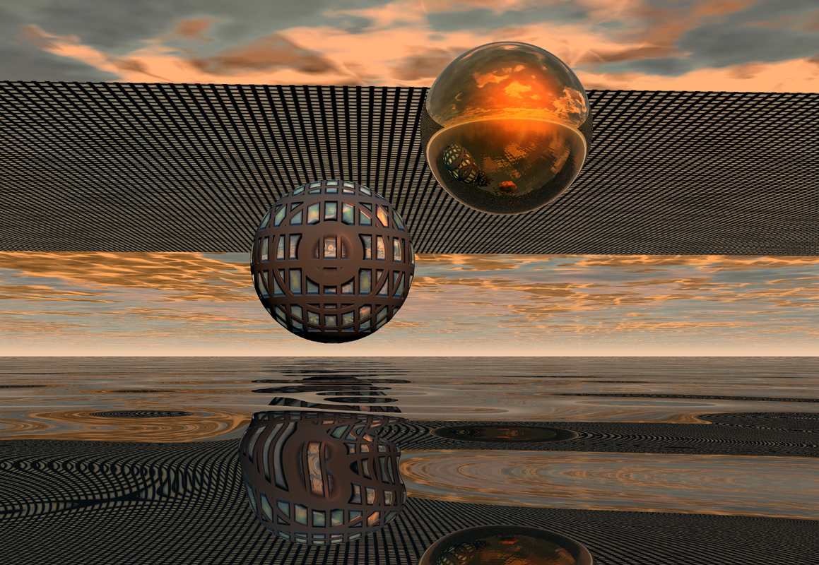 """ Double Sphere """