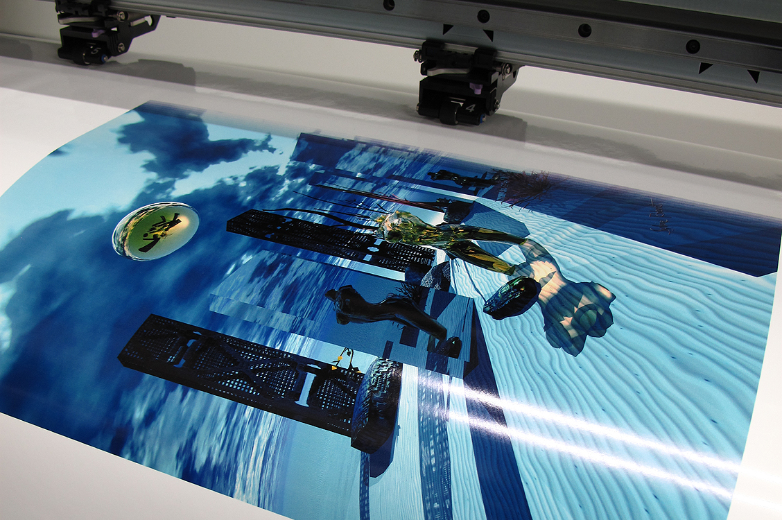 Digital Painting printing