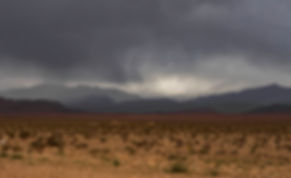 Storm in Atlas Mountains