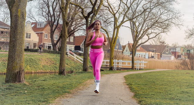 adidas formotion running sport outfit