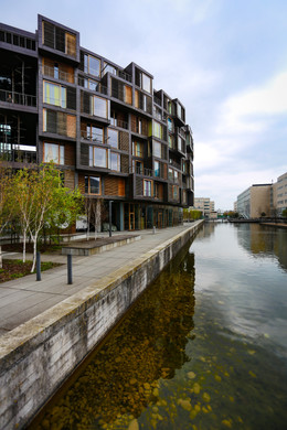 Studentenwohnheim Exterior– Copenhagen, by Lundgaard & Tranberg