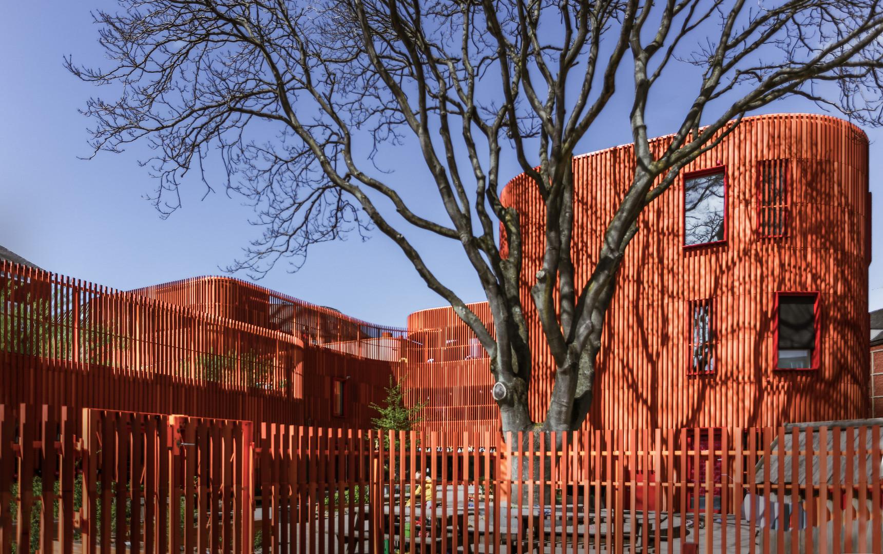 Kindergarten, preschool, Garden Copenhagen by COBE