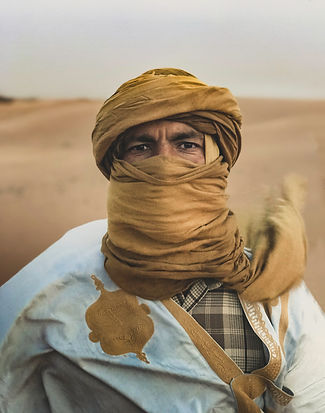 Nomad Portrait windy