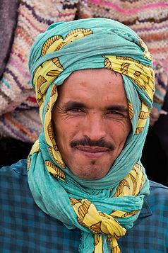 Nomad man colour scarf